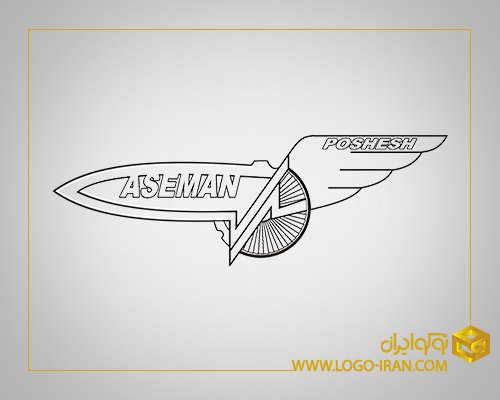 طراحی نشان شرکت هواپیمایی آسمان پوشش